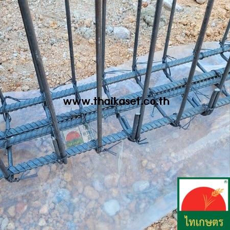 พลาสติกคลุมเห็ด ผ้ายางคลุมเห็ด คลุมพื้น ก่อสร้าง LDPE
