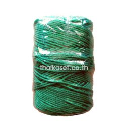 เชือกไนล่อน เชือกพัสดุ สีเขียว (2-3.5 มม.)