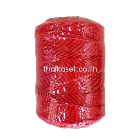 เชือกไนล่อน เชือกพัสดุ สีแดง (1.5-3.5 มม.)
